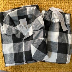 Old Navy Flannel Pajama Set